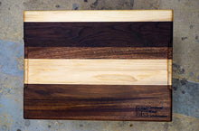 "Sapele/Walnut/Maple Cutting Board- 17 1/2"" X 13"""