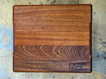 "Sapele Cutting Board- 14 5/8"" X 12 3/8"""