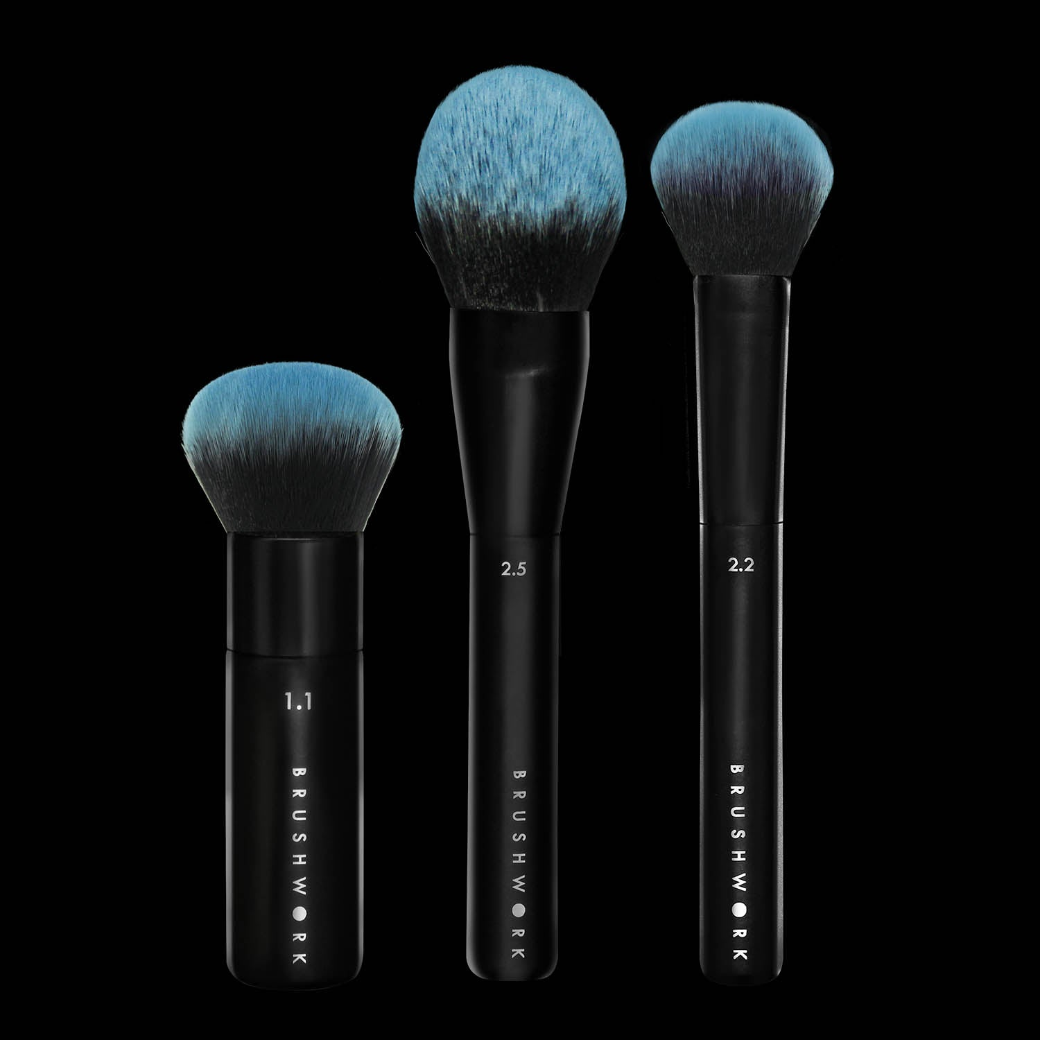 Brushwork Best Sellers Foundation Powder And Blush Brush