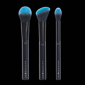 BRUSHWORK FACE SCULPTING CONTOUR AND HIGHLIGHT BRUSH SET