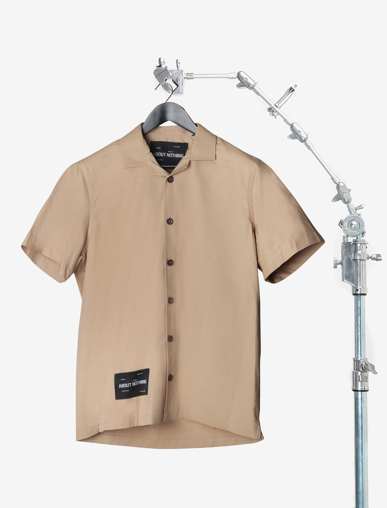 BOWLING SHIRT // LIGHT BROWN