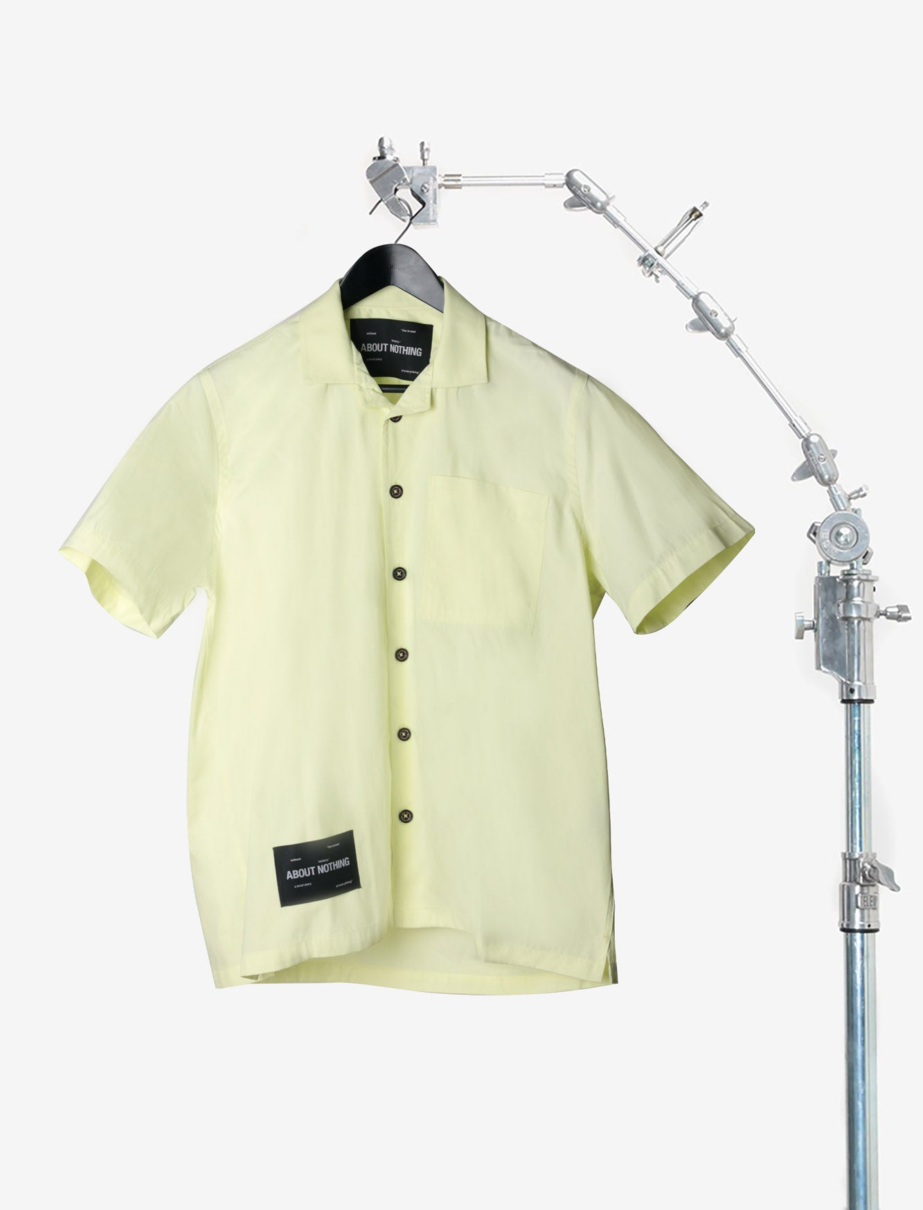 BOWLING SHIRT // PASTEL YELLOW