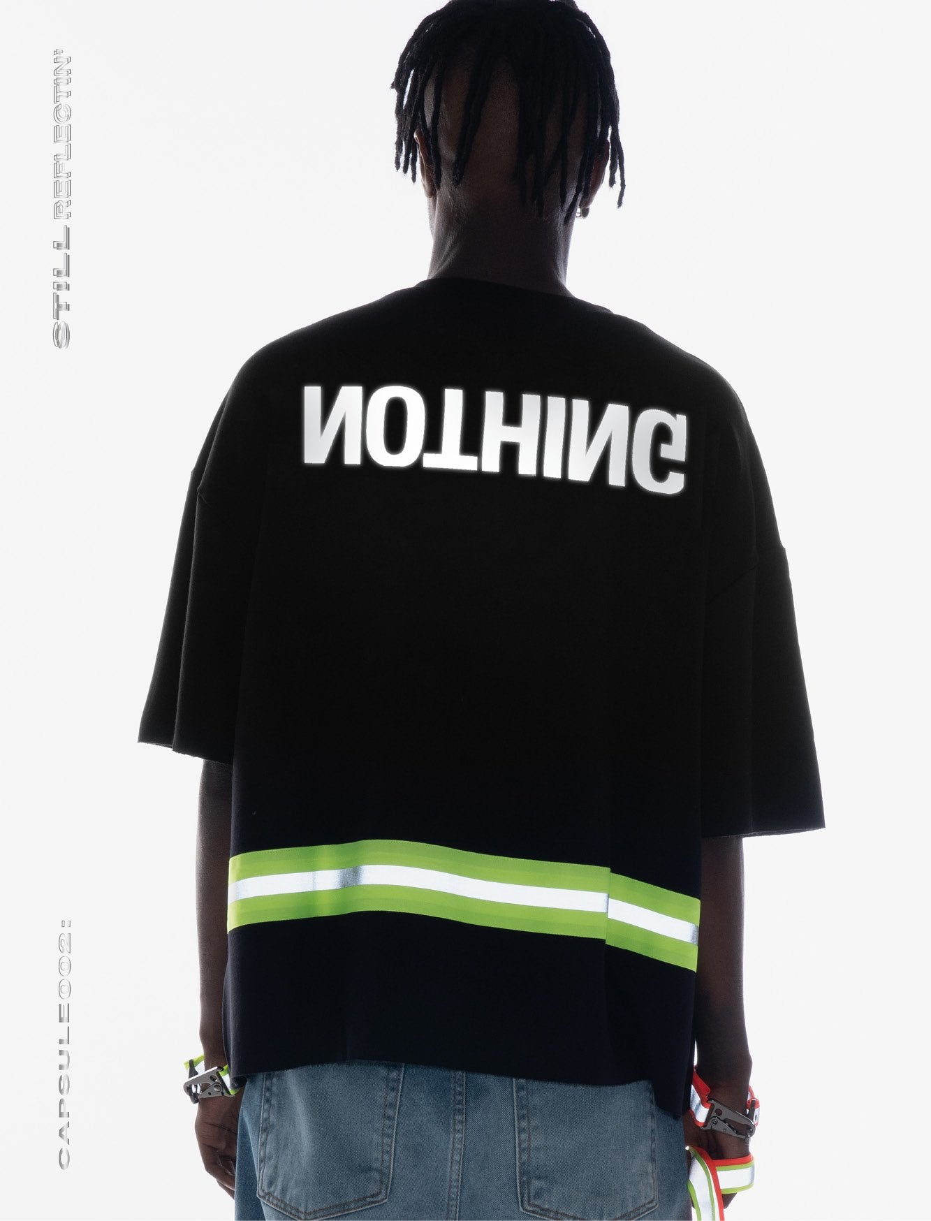 OVERSIZED T_SHIRT //REFLECTIVE STRAP  *SPECIAL EDITION [1/1] part. II