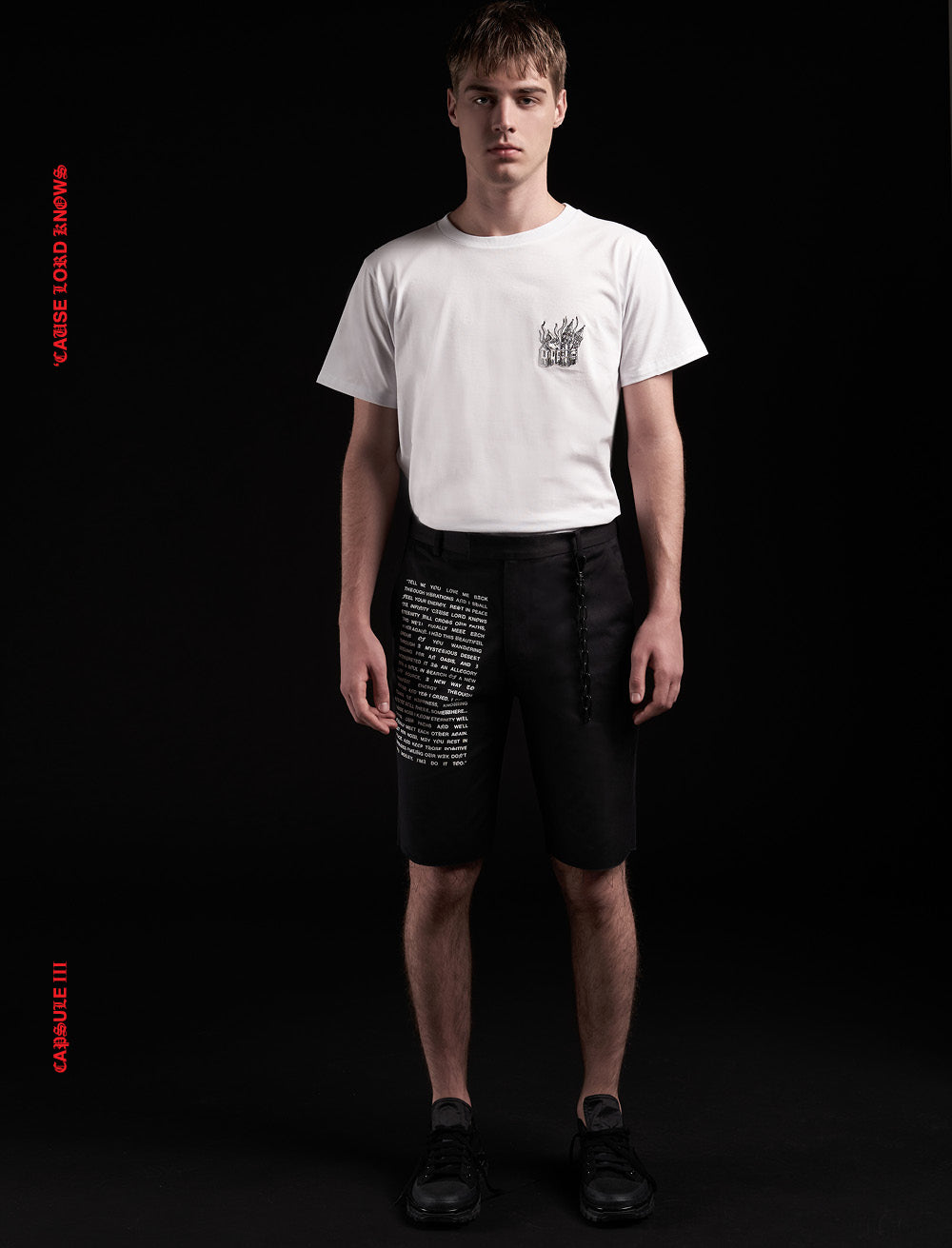 FORMAL SHORTS // WHITE MANIFEST