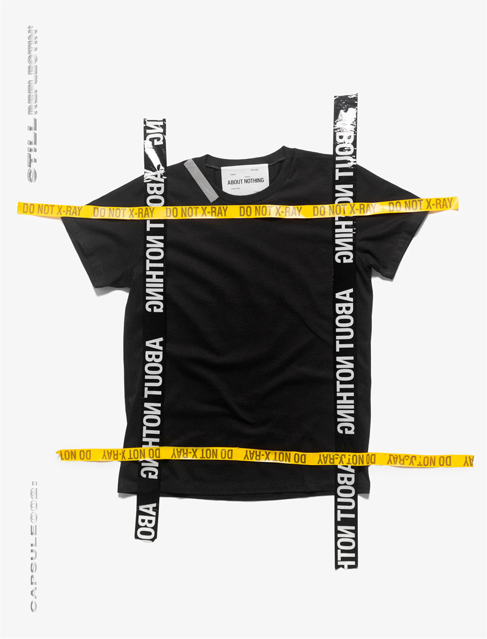 T_SHIRT [BLACK]  // REFLECTIVE TAPE