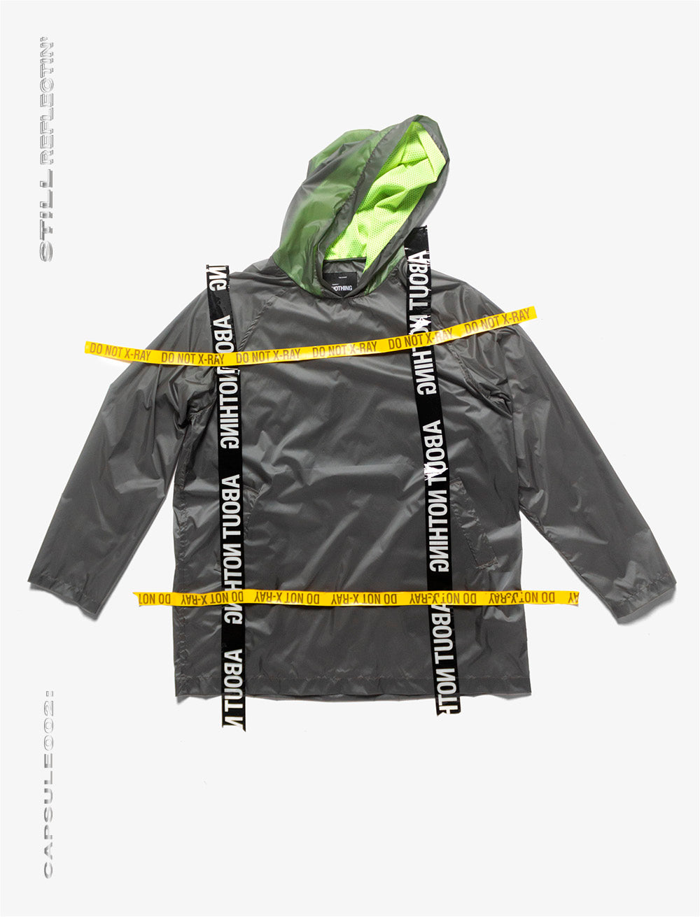 SPORTS RAINCOAT // TRANSLUCID NYLON