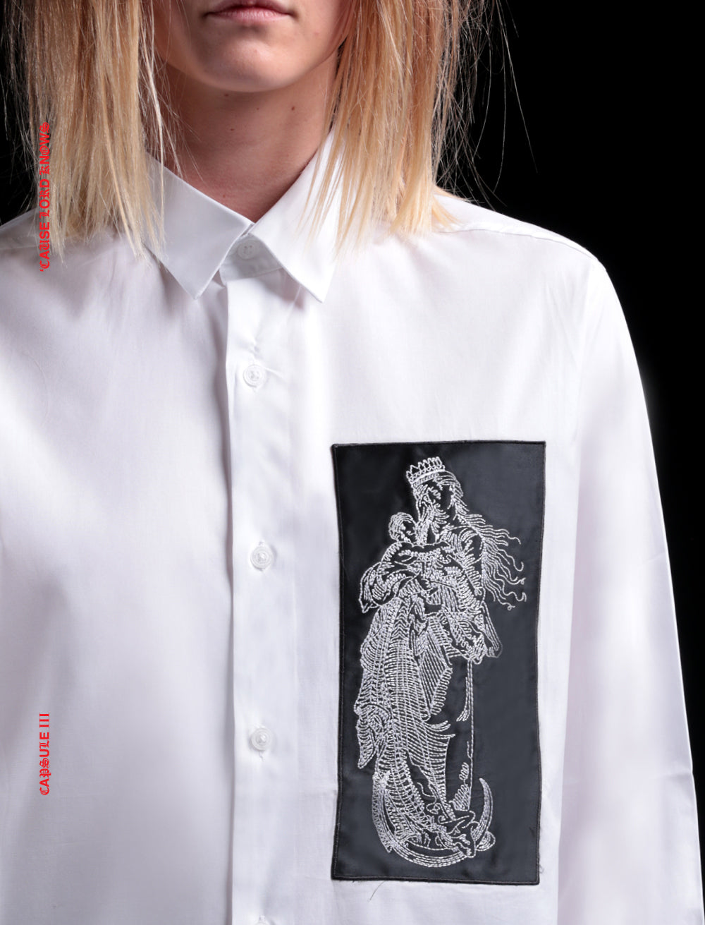 SHIRT // SAINT [WHITE]