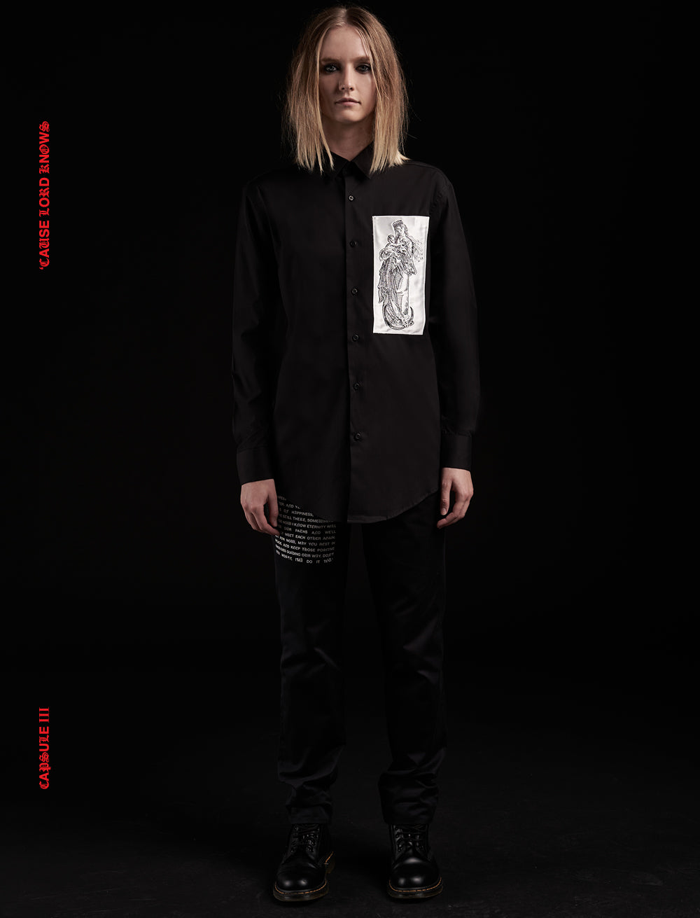 SHIRT // SAINT [BLACK]