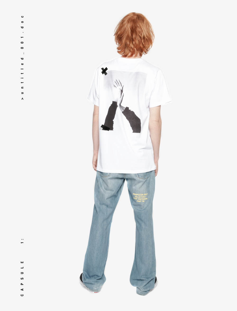 HANDS T_SHIRT [WHITE]