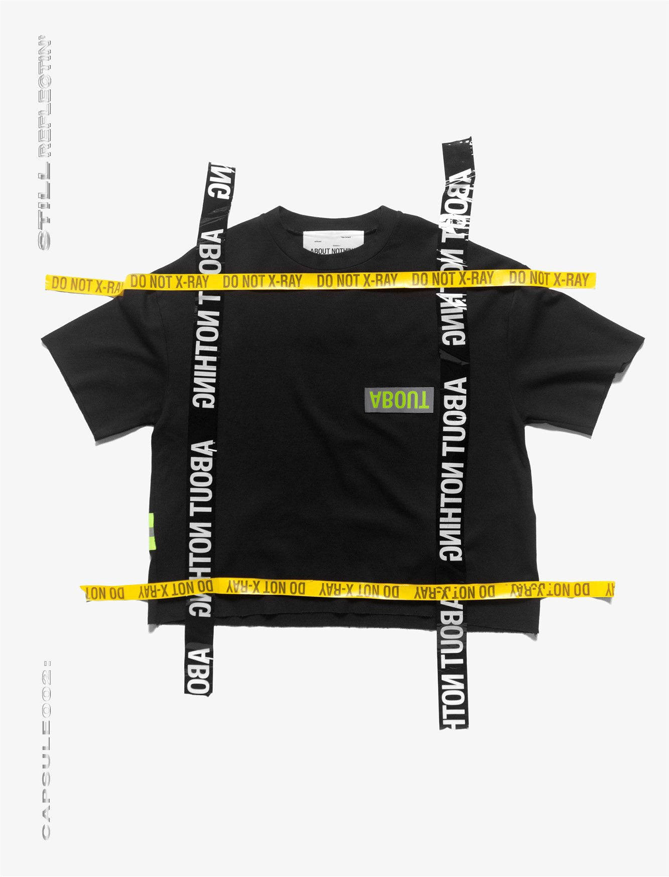 OVERSIZED T_SHIRT //REFLECTIVE STRAP  *SPECIAL EDITION [1/1] part. III