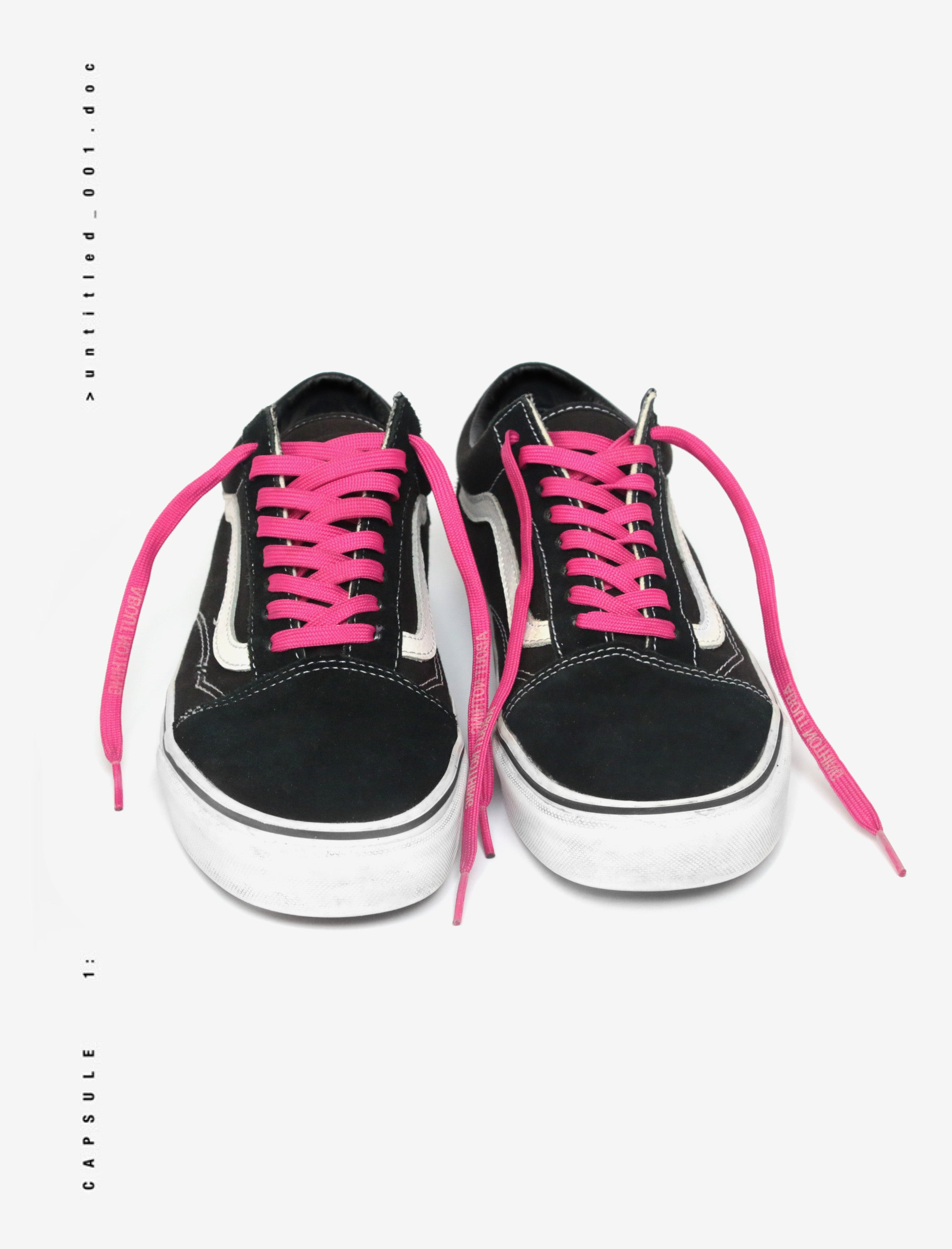 REFLECTIVE LOGO NEON SHOELACES PACK [4 UNITS]