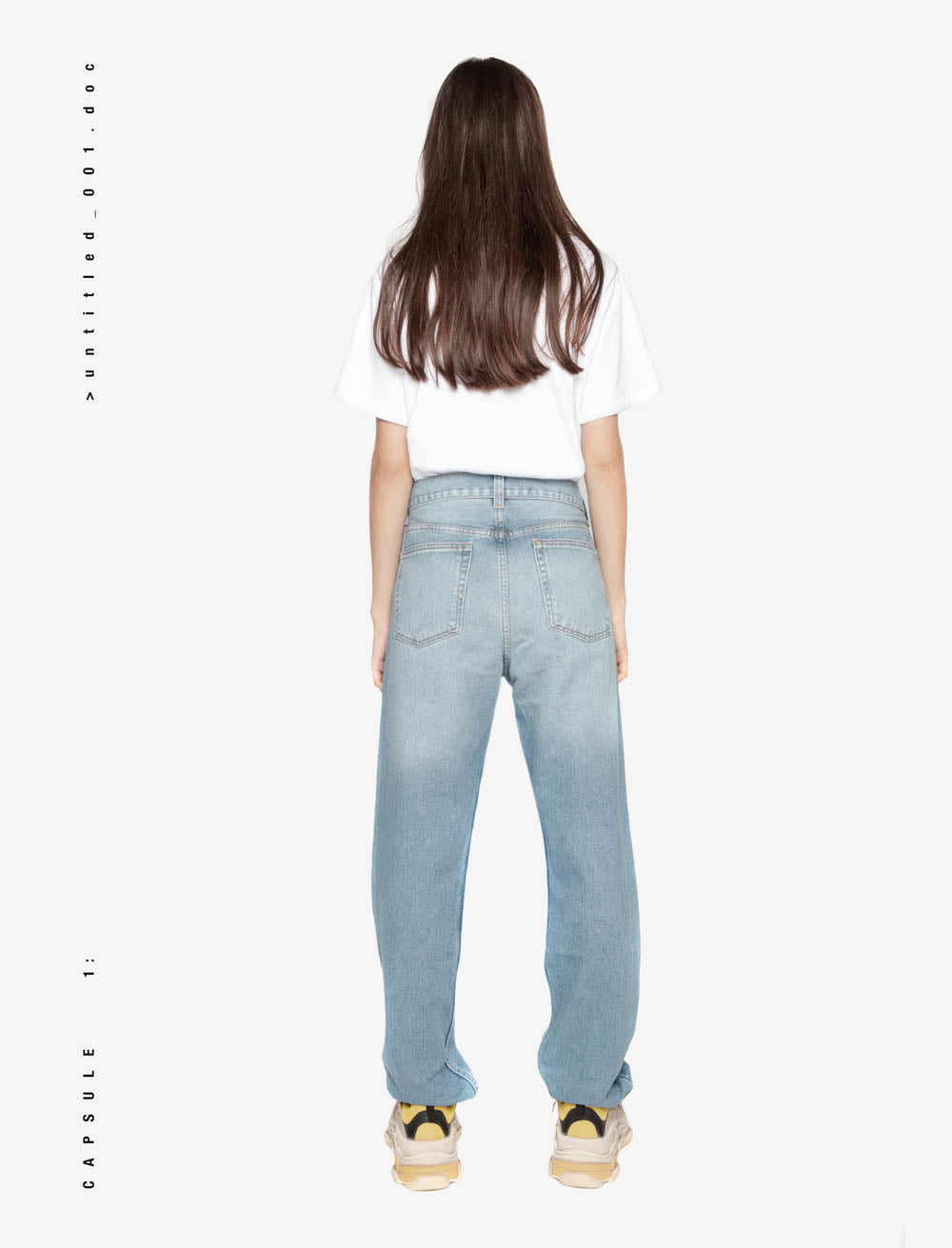 TRIPLE SURROUNDINGS FRONT DENIM