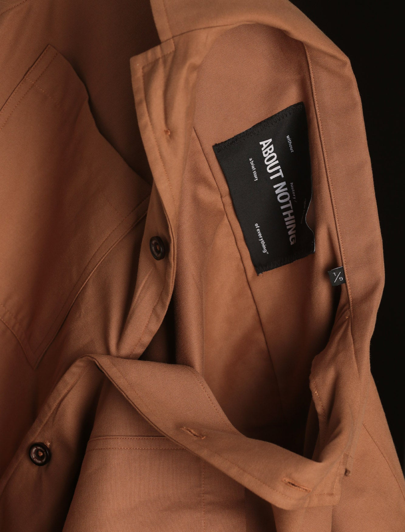 BOWLING SHIRT // MEDIUM BROWN