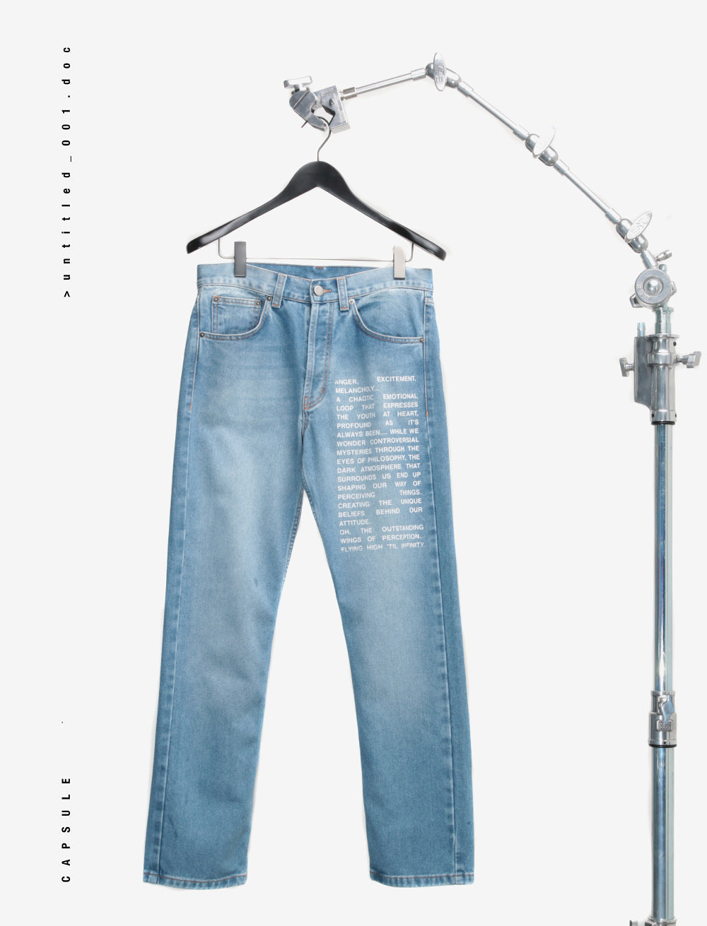 YOUTH MANIFEST FRONT DENIM