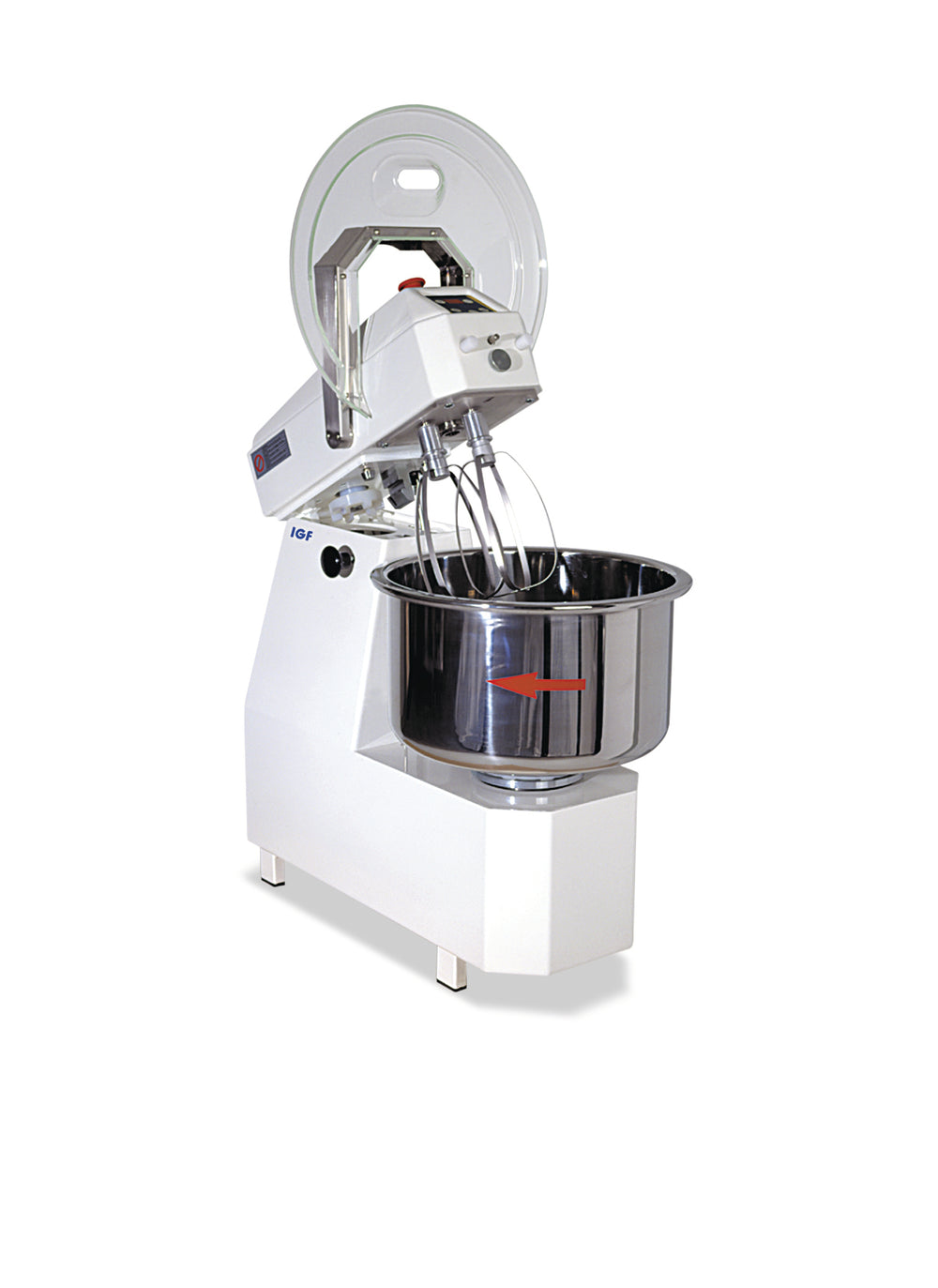 multifunctional mixer with that can be tipped over head 2700