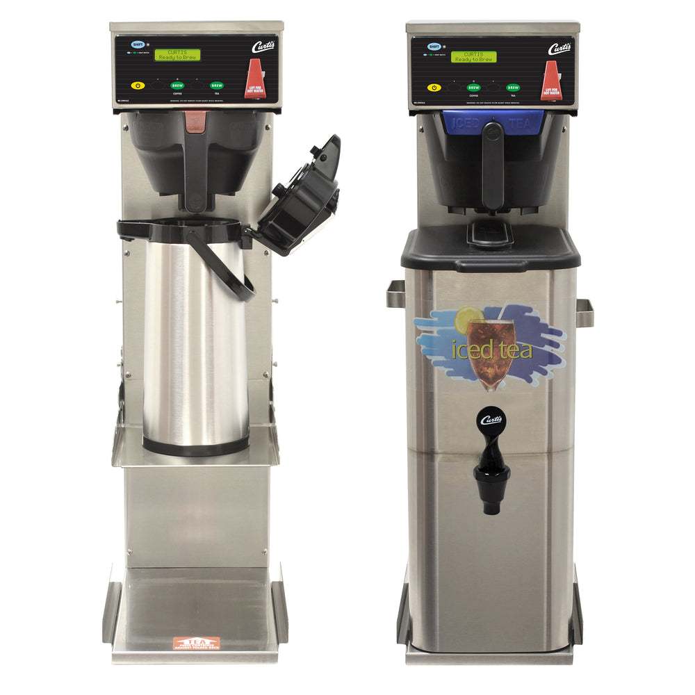 Combo Tea/Coffee Brewer with Adjustable Shelf