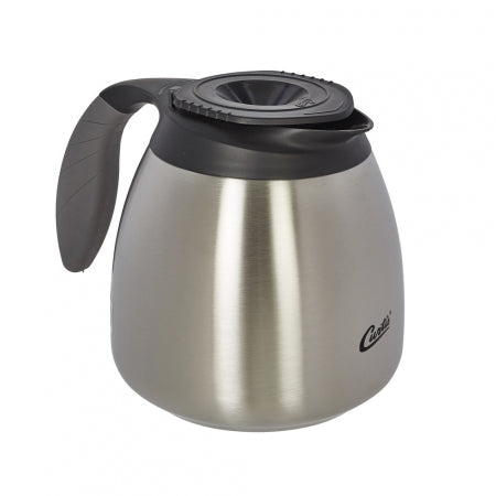 64OZ SEAMLESS SS EXTERIOR/LINER POURPOT WITH BREW-THRU LID