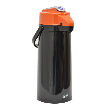 2.2L PLASTIC EXTERIOR/GLASS LINER AIRPOT WITH LEVER HANDLE