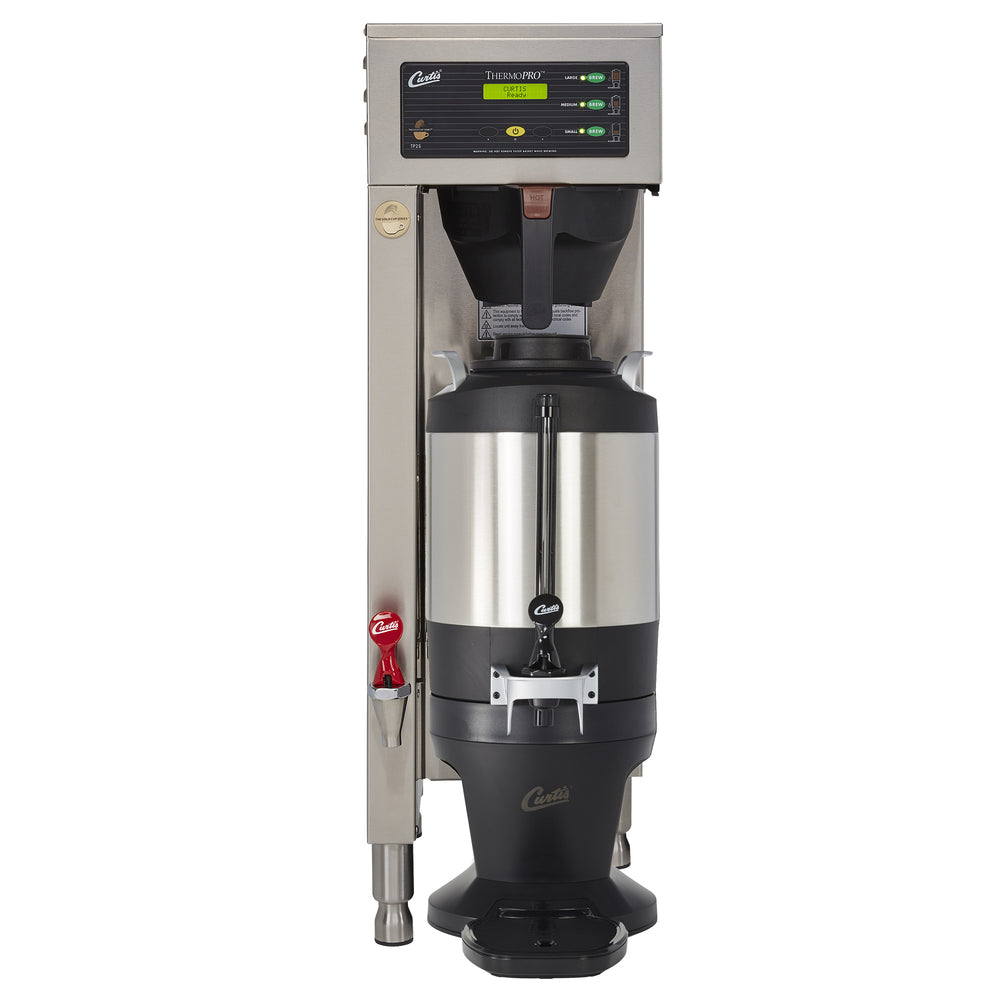 G3 Single 1.5 Gal. Coffee Brewer Dual Voltage with Shelf