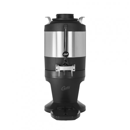 1.0 GAL. INSULATED DISPENSER WITH BLACK SIGHT GLASS AND WIDE MOUTH LID
