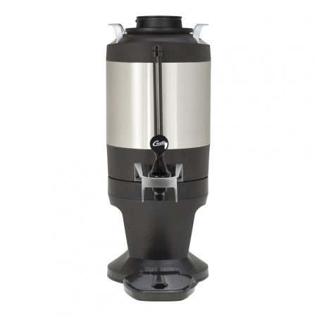 1.5 GAL. INSULATED DISPENSER WITH BLACK SIGHT GLASS AND WIDE MOUTH LID