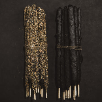 Frankincense & Palo Santo Hand Rolled Incense