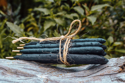 White Sage & Palo Santo Hand Rolled Incense