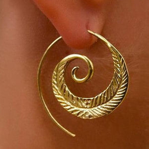 Swirly Vintage Earrings