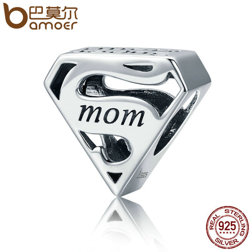 DIY Sterling Silver Super Mom Charm