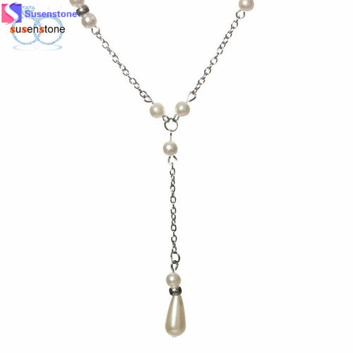 Beautiful Pearl Pendant Necklace