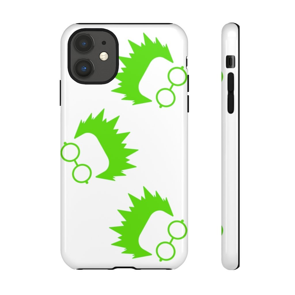 Nerd White Phone Case