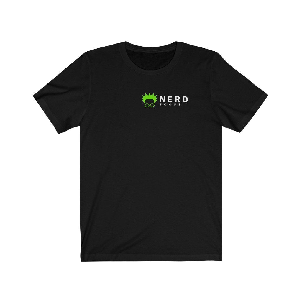 Nerd Focus Jersey Short Sleeve Tee