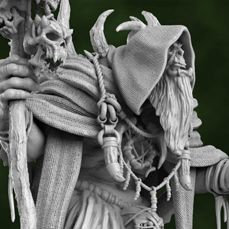 Gul'dan World of Warcraft 3D Printed Model Stl