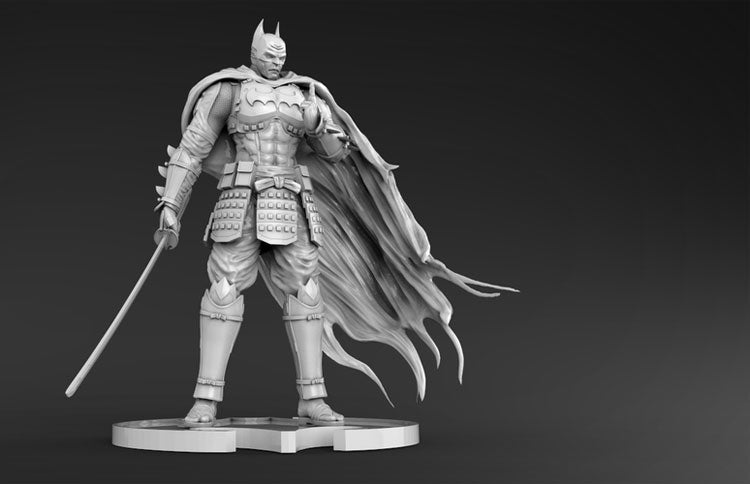 Batman Samurai 3D Printed Model Stl