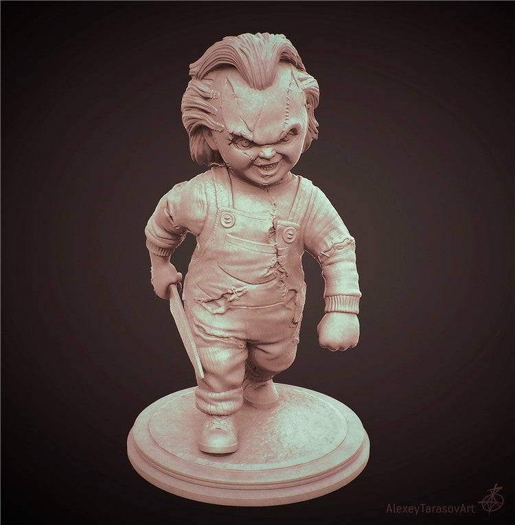 Seed of Chucky Chucky 3D Printed Model Stl