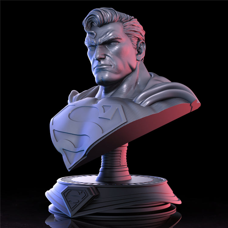 Superman 3D Printed Model Stl
