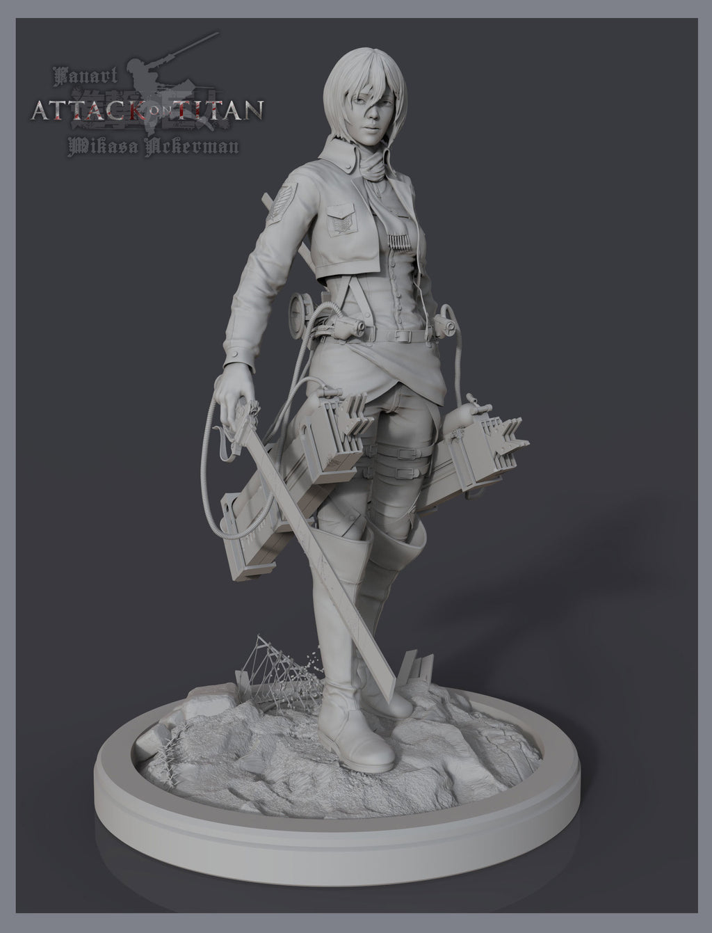 Attack on Titan [Collections File ]3D Print Model Data Stl