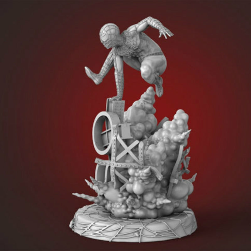 Spider Man 3D Printed Model Stl