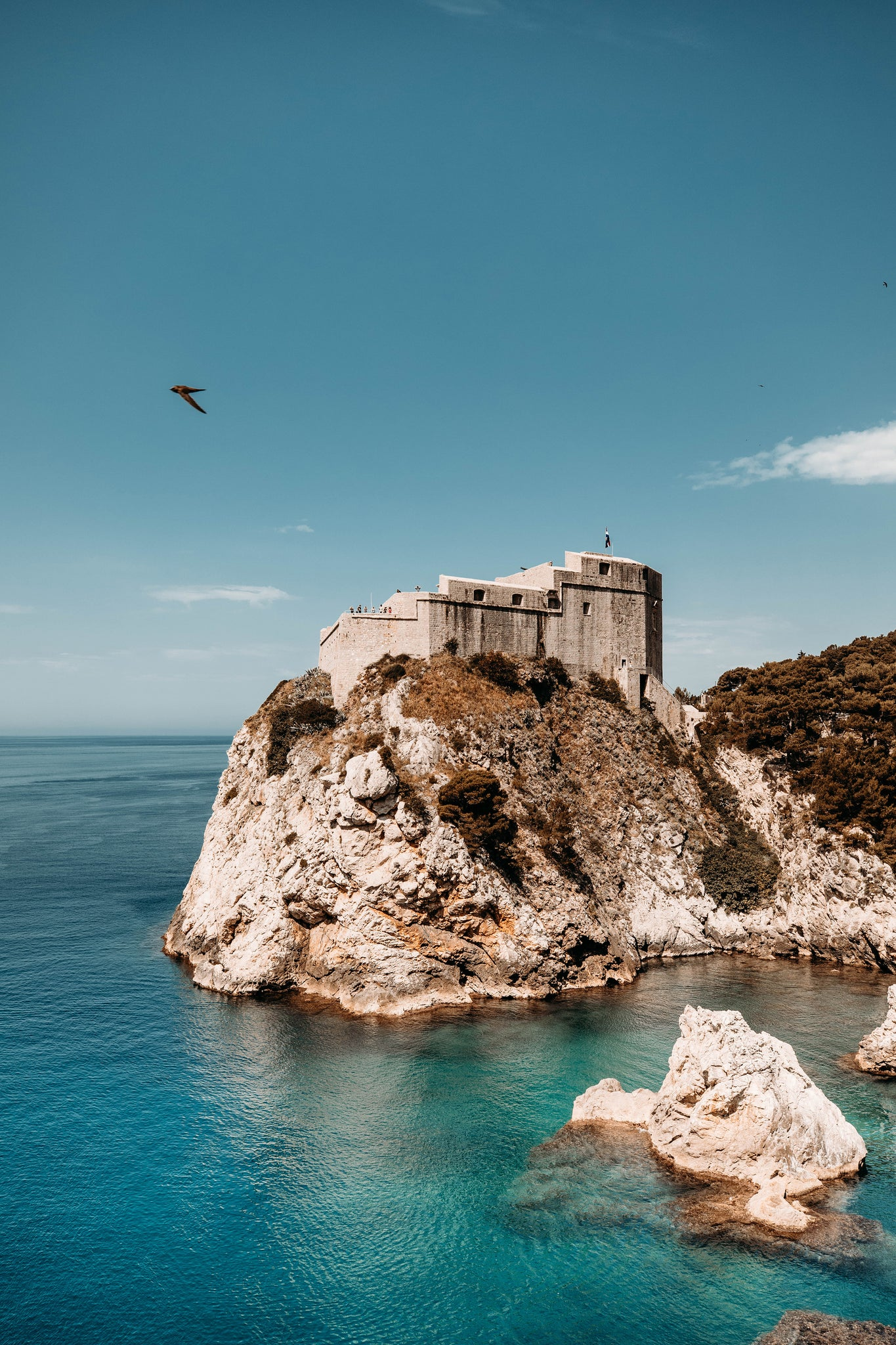 Blackwater kings landing game of thrones in Dubrovnik, Croatia