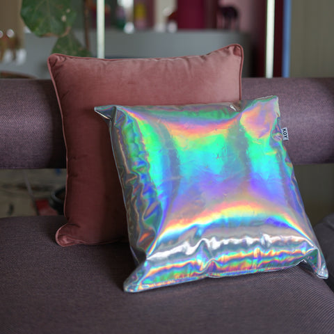Chrome Cushion