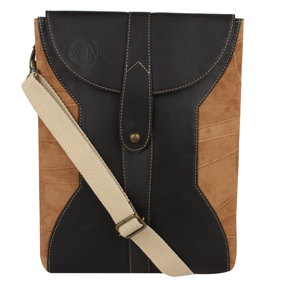Axel - Tan (One Stud) Cross Body Bag