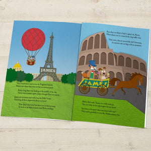 Around the World Personalised Book