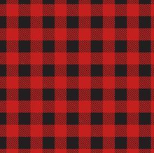 Load image into Gallery viewer, Red and black gingham print