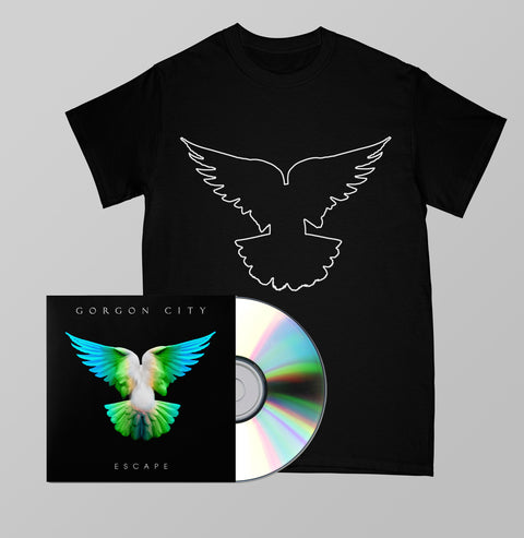 ESCAPE SIGNED CD + TEE