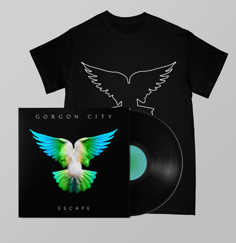 ESCAPE SIGNED LP + TEE