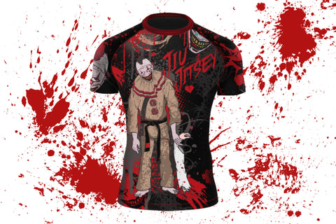 Jiu Jitsey Short Sleeve MMA/BJJ Rash Guard