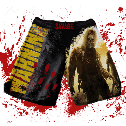 Zombie MMA/BJJ Shorts Shipping Starts from the 30th Of October