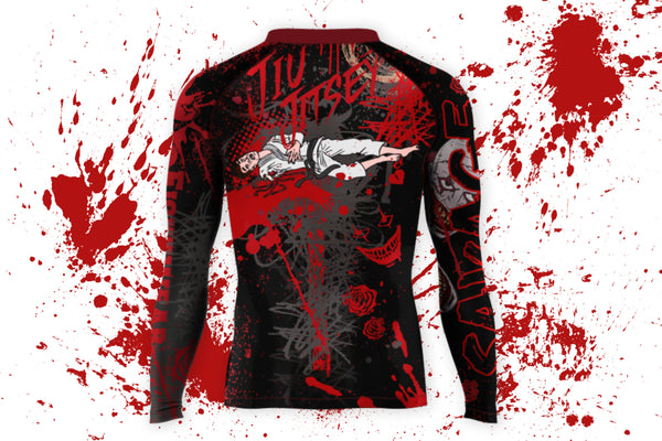 Jiu Jitsey Long Sleeve MMA/BJJ Rash Guard