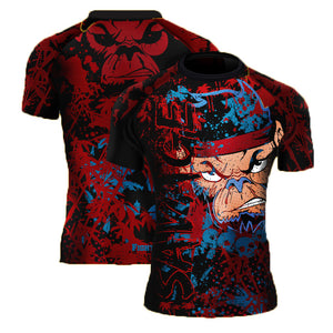 Savage Monkey Short Sleeve Rash Guard SOLD OUT