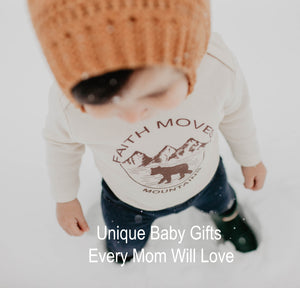 Unique Baby Gifts Every Mom Will Love